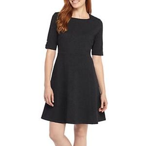 The Limited Square Neck Ponte Dress